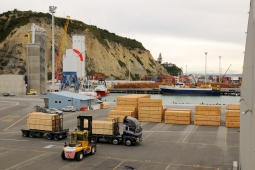Napier Port Logs 010412