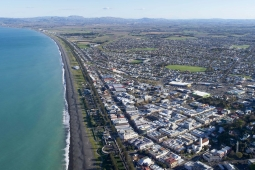 Napier coastline Peter Scott