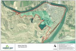 Wairoa Urban PCA Map Jan 21
