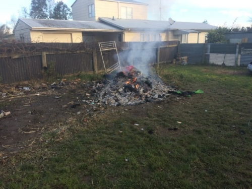 backyard burning ban