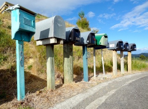 mailboxes my property