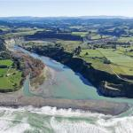 Mohaka township and river mouth (Courtesy of www.abovehawkesbay.co.nz)