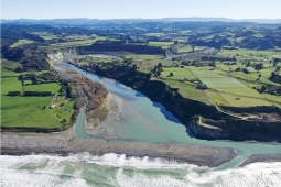 Mohaka township and river mouth Courtesy of www.abovehawkesbay.co.nz