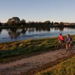 Cycling and Rowing in Clive