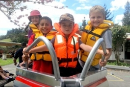 Te Pohue School lifejacket programme Copy